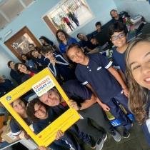 Iniciam as aulas no Centro Educacional La Salle