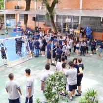 Início do ano letivo no Colégio La Salle Dores