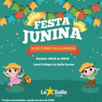 Festa Junina 2018 acontece dia 16/06, sábado