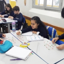 Atividade sobre formas geométricas com o 5º Ano EF