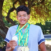 Lassalistas são medalhistas em Torneio de natação
