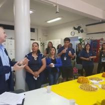Presidente da Rede La Salle visita colégio
