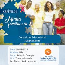1º encontro da família - Escola da Inteligência