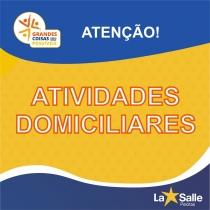 ATIVIDADES DOMICILIARES