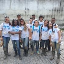 Lassalistas constroem casas com o Projeto Teto!