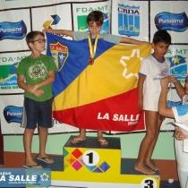 Natação Lassalista é destaque em campeonato estadual