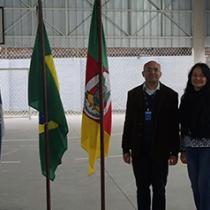 Inauguração da Quadra Esportiva