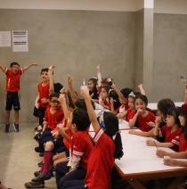 Os primeiros passos da Educação Infantil no Colégio