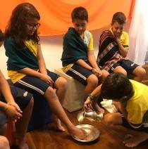 Lava-pés (Ensino Fundamental I)