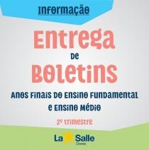 Entrega de Boletins 2º Tri | Anos Finais EF e EM
