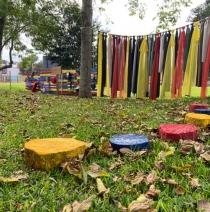 Novo espaço verde da Educação Infantil