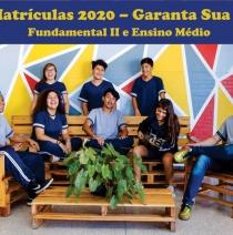 Pré-Matrículas 2020 – Fundamental II e Ensino Médio
