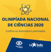 Antonianos são aprovados na Olimpíada de Ciências