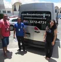 Doações de materiais à Casa de Ismael