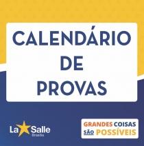 Calendários  e Conteúdos de Provas - 1º Trimestre