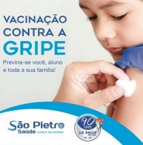23 e 24/4: Vacinação contra Gripe na Escola