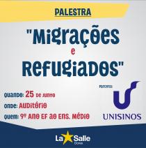 Colégio promove palestra em parceria com a Unisinos
