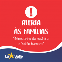 Alerta às famílias sobre a