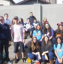 Grupo de Jovens participa de ação voluntária!