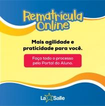 Rematrículas on line