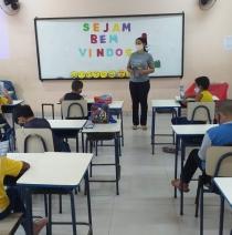 Retorno das turmas às aulas presenciais
