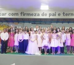 Cerimônia de Formatura do 5º Ano 2019.