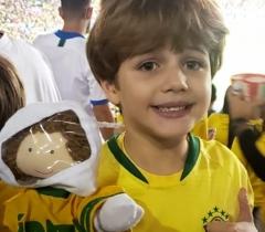 Astro vai ao Maracanã na final da Copa América