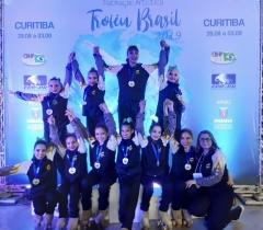 Aluna é campeã em torneio nacional de patinação