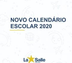 Novo Calendário Escolar 2020