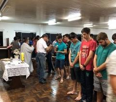 Celebração Religiosa na Escola Agrícola La Salle