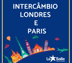 Intercâmbio Londres e Paris