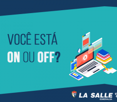 Você está On ou Off? Educação Tecnológica em foco