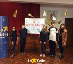 Vencedores da primeira etapa do Math Games.