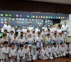 Troca de Faixas de Judocas Antonianos