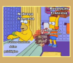 8º Ano cria memes para explicar a Revolução Francesa