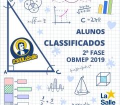 Antonianos se classificam para 2ª fase da OBMEP