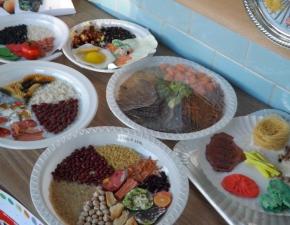Exposição do Projeto Alimentação Saudável