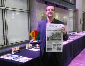 Jornal Gazeta 110 leva prêmio de excelência gráfica