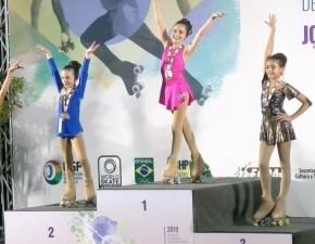 Prêmio internacional em Patinação