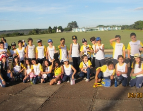 Estudantes visitam Brasília