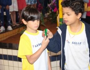 Estudantes participam de Caça-Talentos
