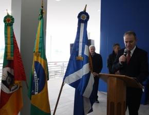 Inauguração prédio K