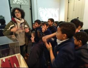 Passeio ao Museu de Porto Alegre com os 3ºs anos