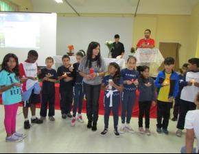 Celebração de Acolhida aos alunos da Escola