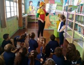 Dia Nacional do Livro Infantil - Biblioteca Ir. Egídio Justo