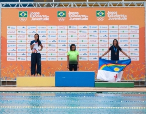 Elysa Maia campeã nos Jogos Escolares da Juventude