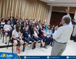 4º Ano visita a Faculdade La Salle