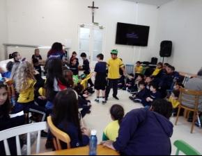 Visita no Asilo Padre Cacique - 3º anos