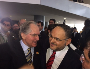 Posse do novo Ministro da Educação, Henrique Paim