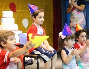 Rito de passagem 2019 - Creche III e 5º Ano
